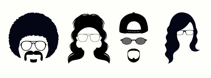 L histoire de la mode des lunettes 20f3d0ac8a17